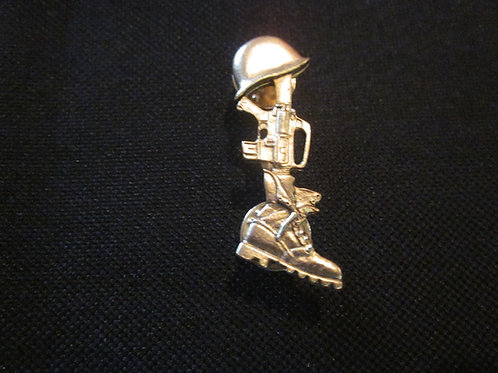 Tribute pin  gold