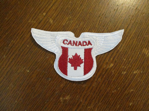 #300 Canada wing patch