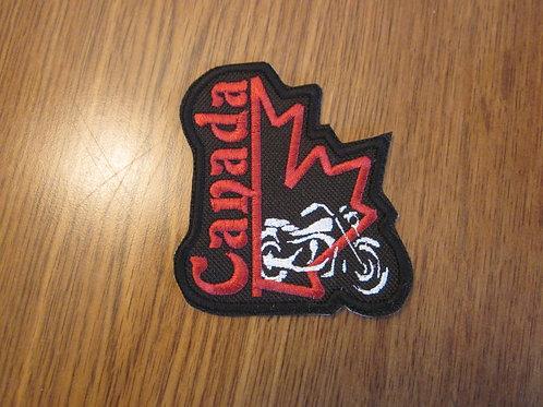 """Canada Rider halfleaf approx 3x3"""" patch"""