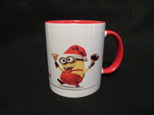 #48 Minion Merry Jingle  mug