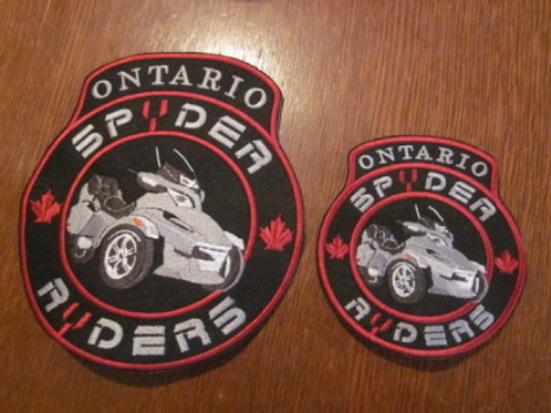 "ONTARIO SPYDER RYDER CREST/ BIKE/ 4""/6""/10"""