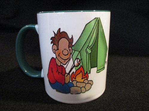 #185 camping mug