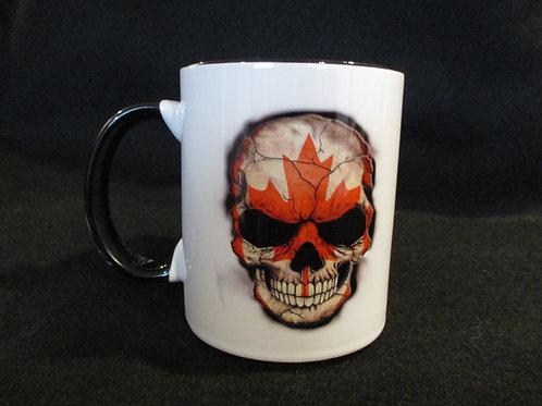 #269 CDN biker mug