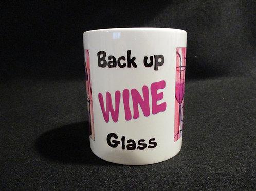 #607 Back up wine glass