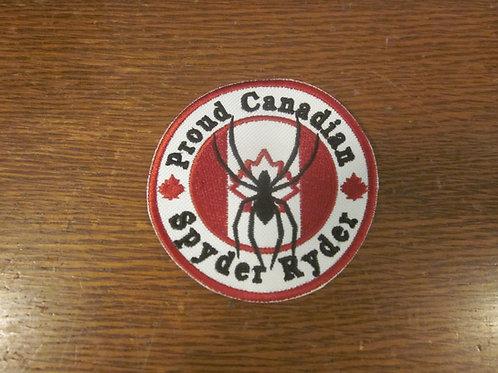 Proud Canadian Spyder Ryder patch
