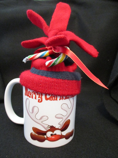 copy of #149 reindeer mitten mug