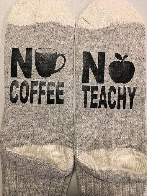#7 No coffee.. no Teachy