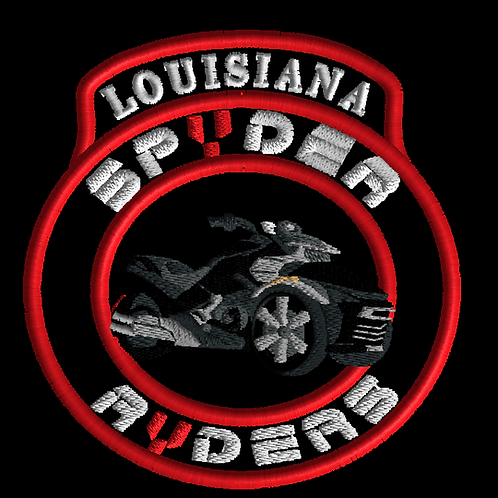 "Louisiana  SPYDER RYDER CREST/ BIKE/ 4""/6""/10"""