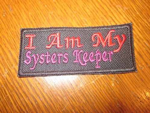 I AM MY SYSTERS KEEPER PATCH