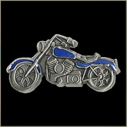 blue bike pin