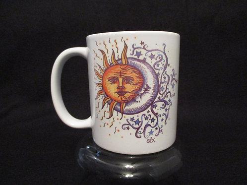 105 the sun sees your body /sun moon mug