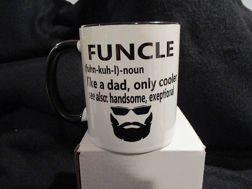 #188 Funcle .. a dad only cooler mug