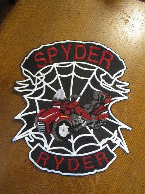 spyder ryder web/banner patch  SMALL