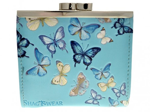 #607 butterfly coin purse