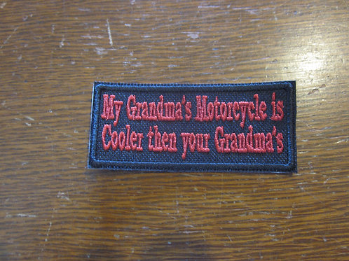 Grandma's motorcycle is Cooler then your....