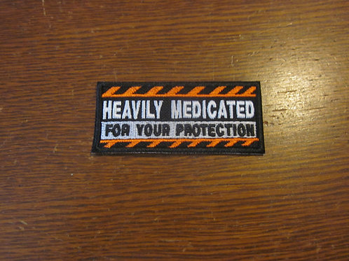 Heavily medicated patch