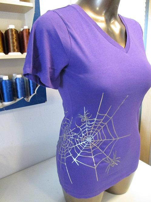 #202 spyder web shirt