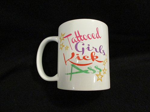 #701 Tattooed girls kick ass mug