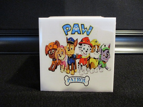 #1003  Treasure box Paw patrol