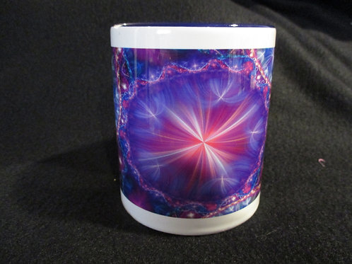 #280 purple burst mug