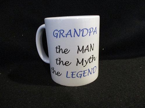 #180 Grandpa the Man... the Myth mug