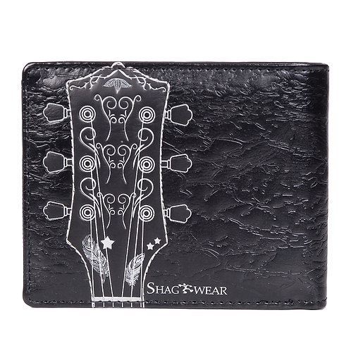 #508 guitar mens wallet