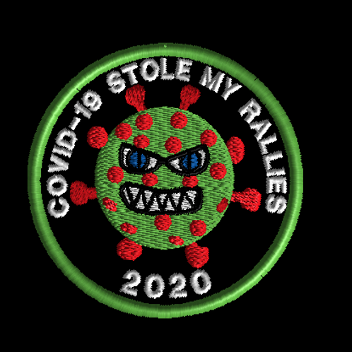 Covid-19 rallies patch