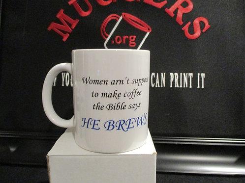 #790 He Brews mug