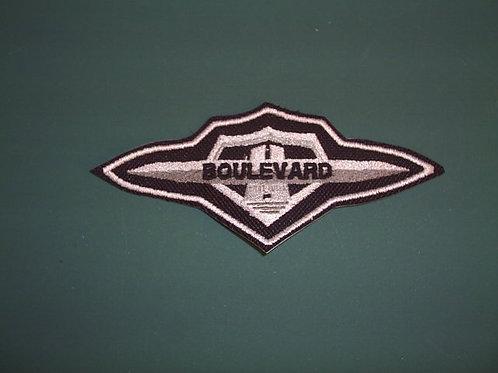 Boulevard Patch SILVER/BLACK