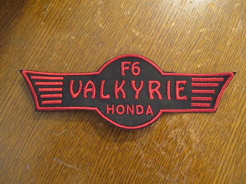F6 valkyrie honda patch