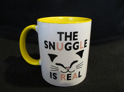 #240 the snuggle is real mug