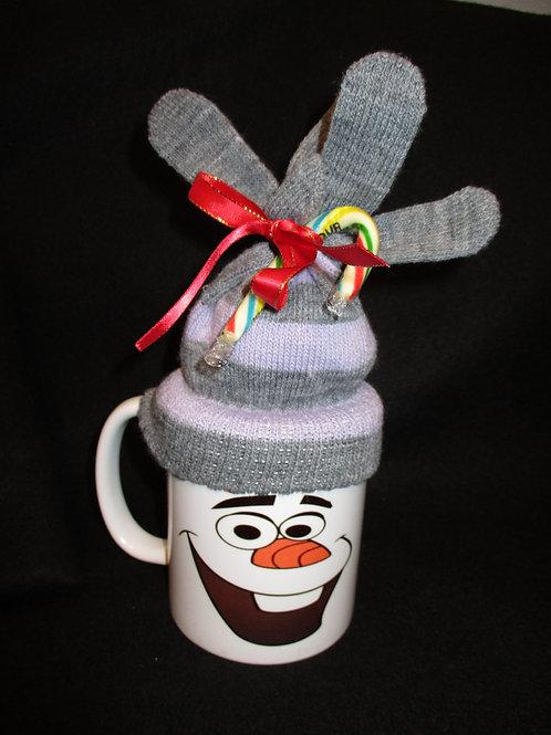 #148 Olaf mitten mug