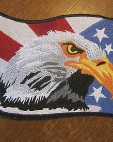 AMERICAN EAGLE PATCH  5 X 6""