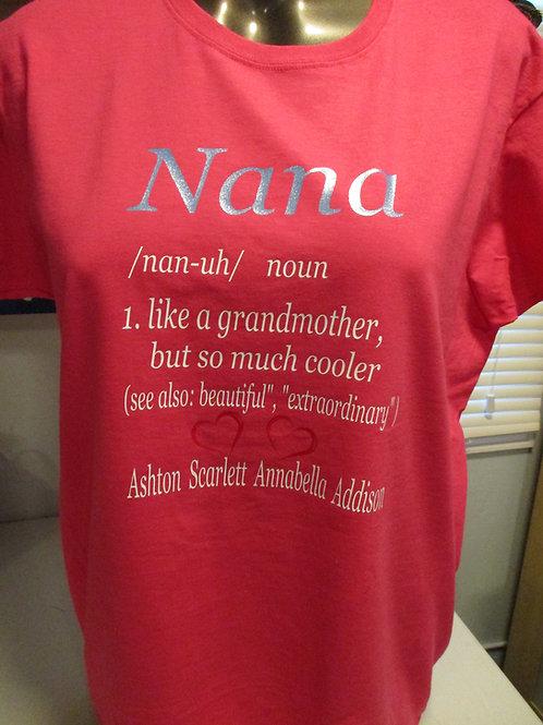 #402 Nana Definition shirt