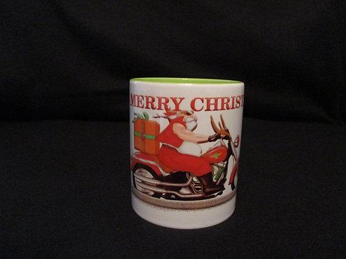 #46 Santa Biker mug