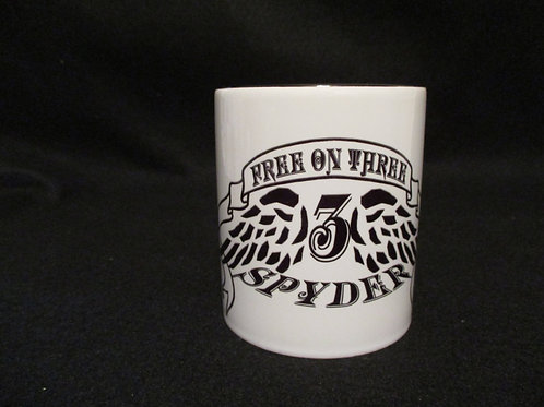 #31 Free on Three mug