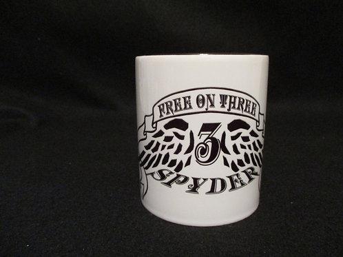 #31 Free on Three mug