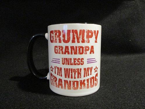#206 Grumpy Grandpa....mug