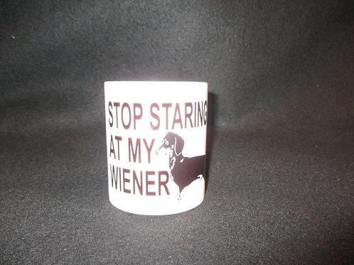 #610stop staring at my wiener mug