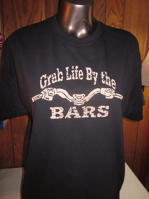 #74 Grab life by the Bars mens shirt