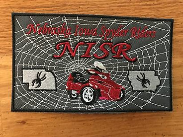 #2 NISR  Nebraska Iowa patch