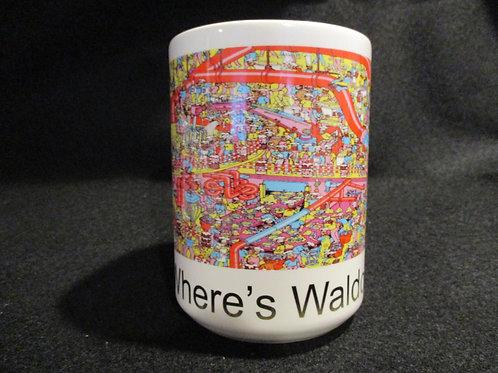 #606 Where's Waldo mug B