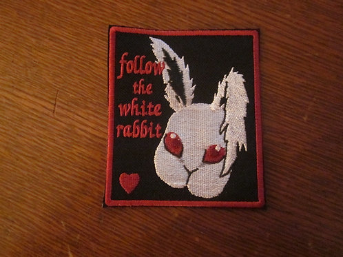 follow the white rabbit patch