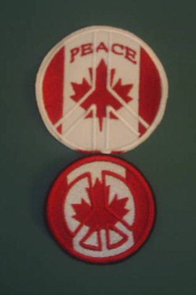 "Cdn Peace Patch 3"" circle"