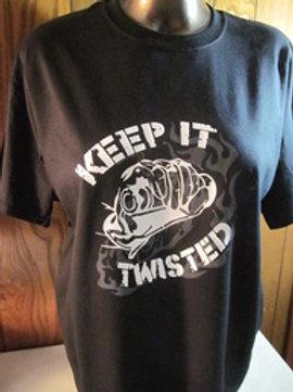 #67 keep it twisted t shirt