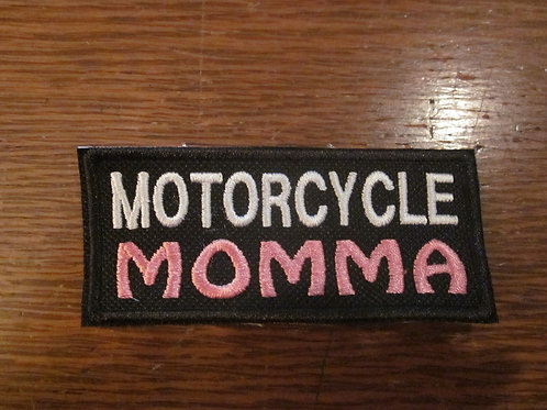MOTORCYCLE MOMMA PATCH