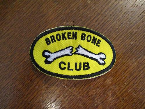Broken Bone Club Patch