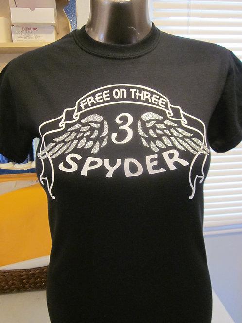 #201 Free on Three spyder Tee