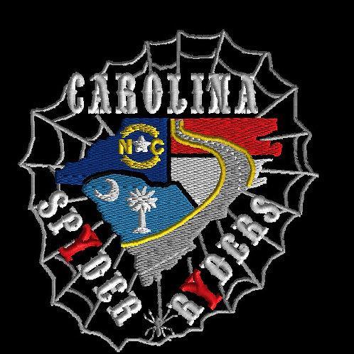 """Carolina Spyder Ryders Web/state patch 6 X 6.5"""""""