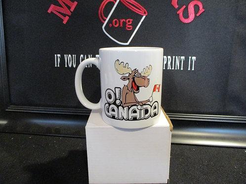 #1009 O! Canada moose mug